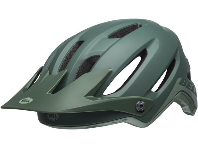 Bell 4Forty Fietshelm, cliffhanger matte/gloss dark green/bright green